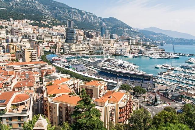 Vue de Monaco.