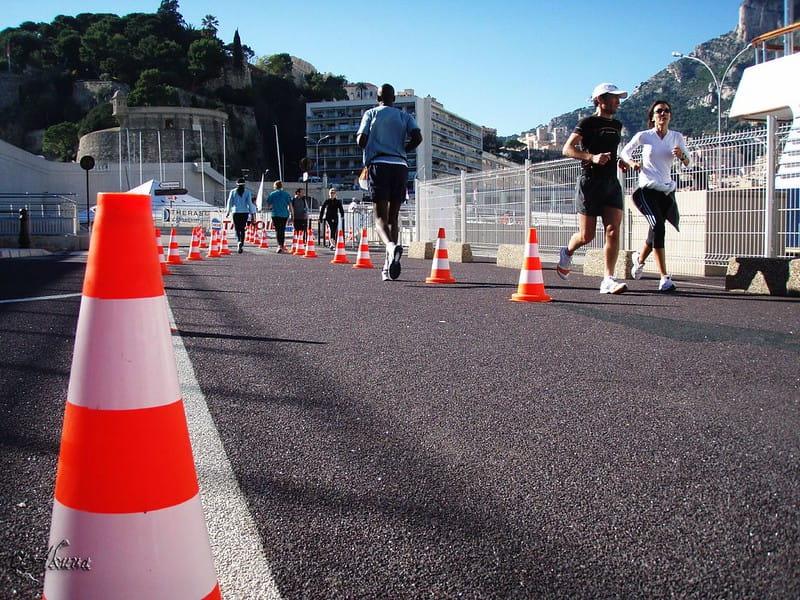 No finish Line 2019 in Monaco.