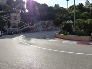 Route du grand prix de Monaco