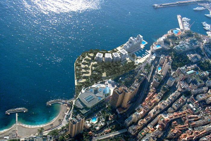 Simulation des travaux de Monaco