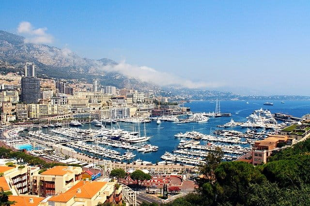 Vue d'ensemble de Monaco.